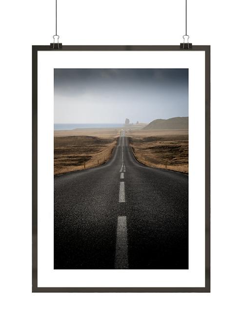 Pusta droga Islandii