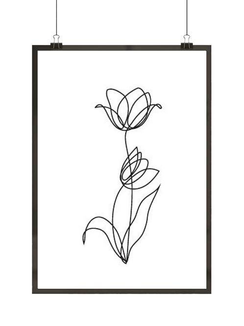 Prosty tulipan