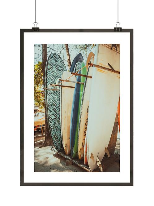 Stare deski surfingowe