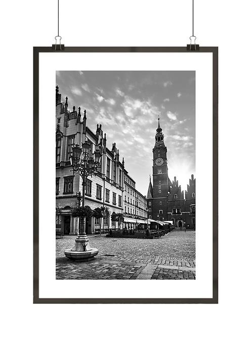 Czarno-biały Wrocław