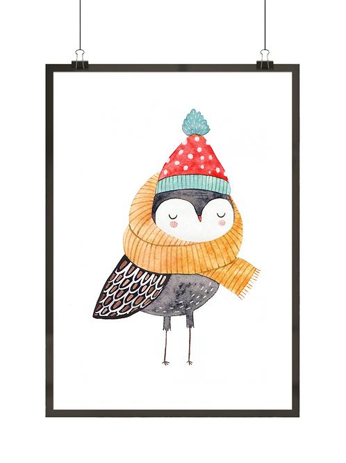 Zimowy ptaszek