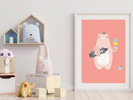 6 genialnych plakatów do pokoju Twojego dziecka!