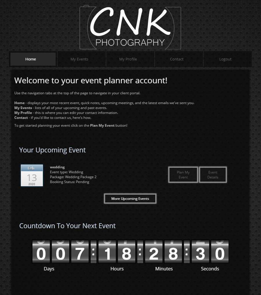 CNK Client Portal