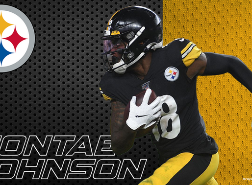 Diontae Johnson has quickly become a top target for Ben Roethlisberger