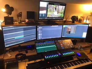 Main Studio Desk