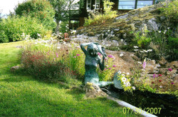 The Mermaid water feature
