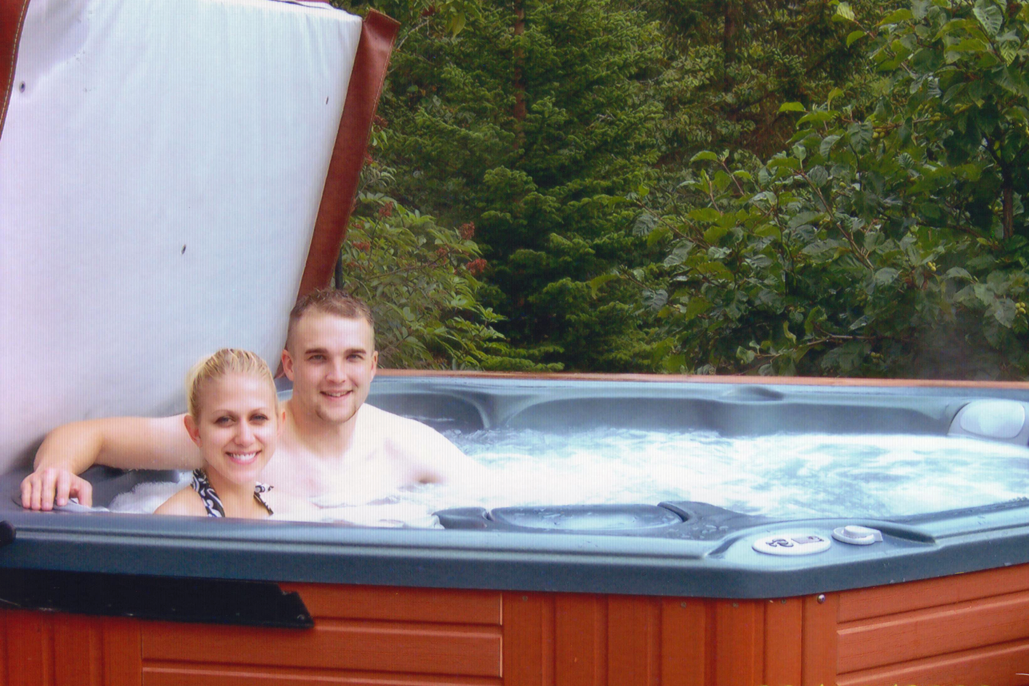 Hot Tub Honeymooners