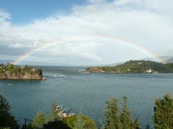 Rainbow over the Isthmus