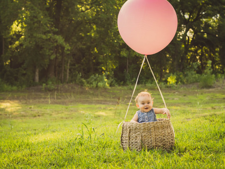 Up, Up, and Away | Baby Photo Session | New Joy Photography, Wolfe City, TX