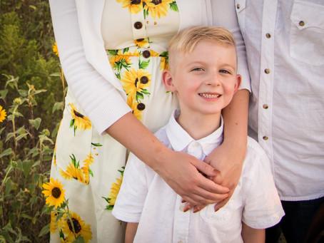 Family Photo Session | Sunflowers | New Joy Photography, Royse City, TX