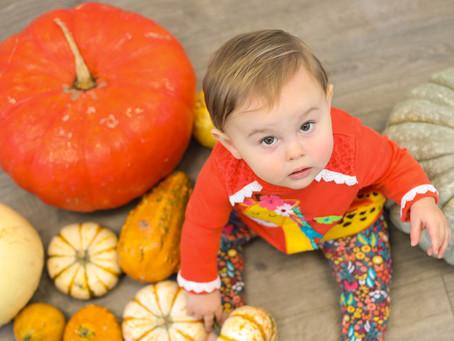 Baby + Pumpkins! | New Joy Photography Studio, Wolfe City, TX