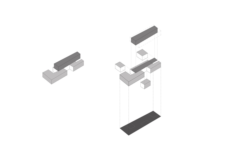 Axonométrie volumétrique