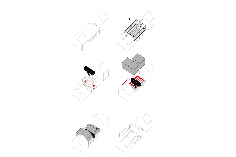 Axonométrie de principe
