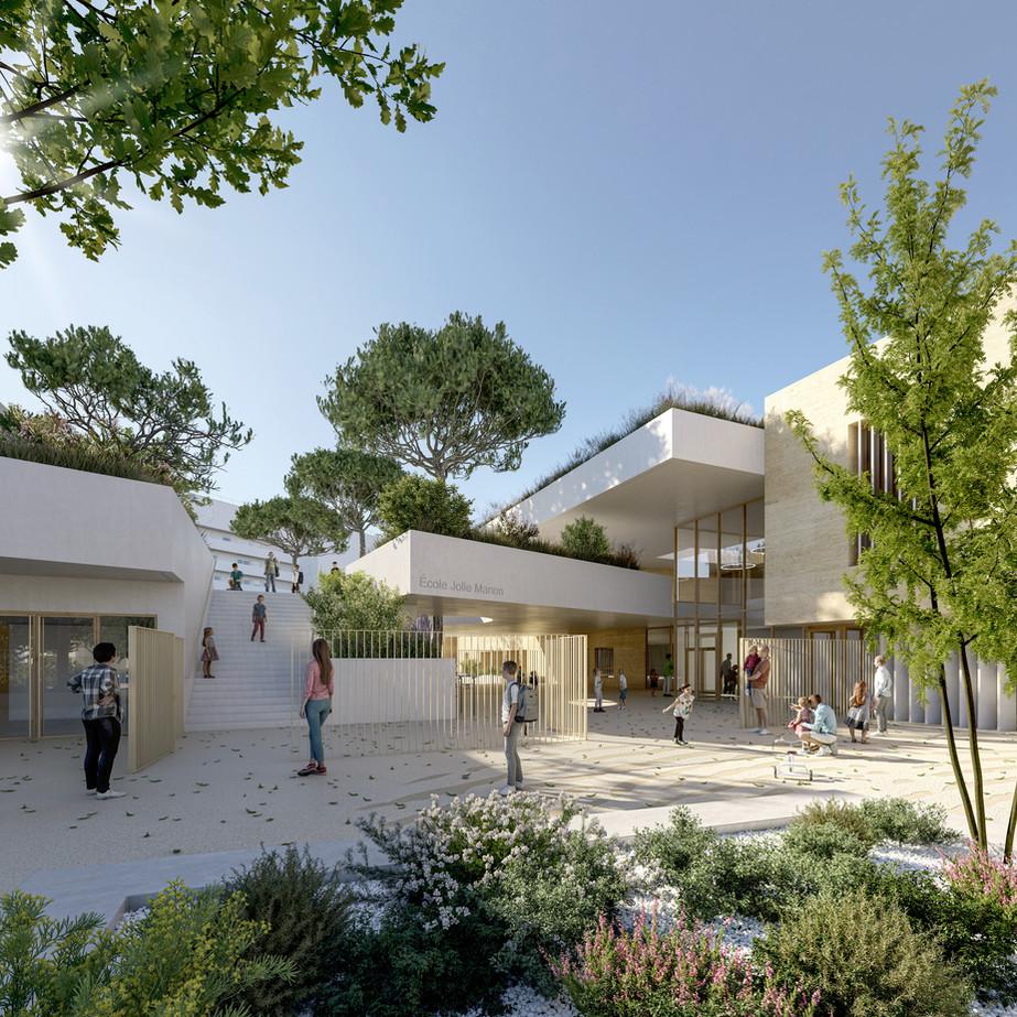 ANTOINE BEAU ARCHITECTURE + REY DE CRECY ARCHITECTES