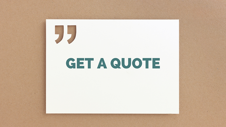 a graphic advert that says 'get a quote' for digital marketing services with Ivyhill Digital