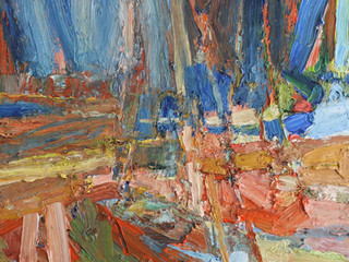 Boats in Orange and Blue