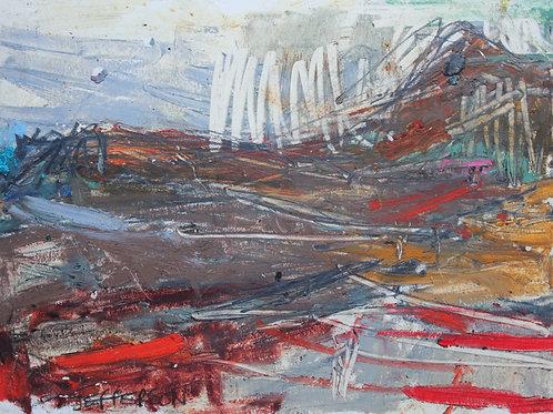 Edinburgh Landscape 1 (14x20cm)