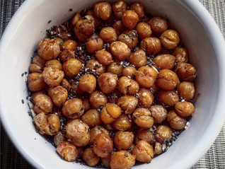 Roasted Chickpeas with Cumin & Chilli