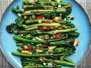 Sesame and Chilli Broccoli