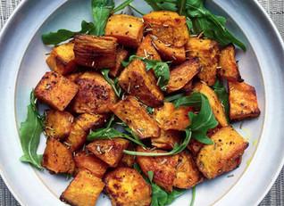 Cumin & Turmeric Roasted Sweet Potato