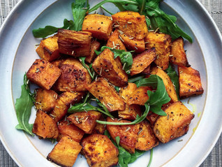 Cumin & Turmeric Roasted Sweet Potato