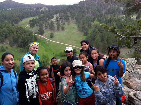 Students at the top of Talus Point.jpeg