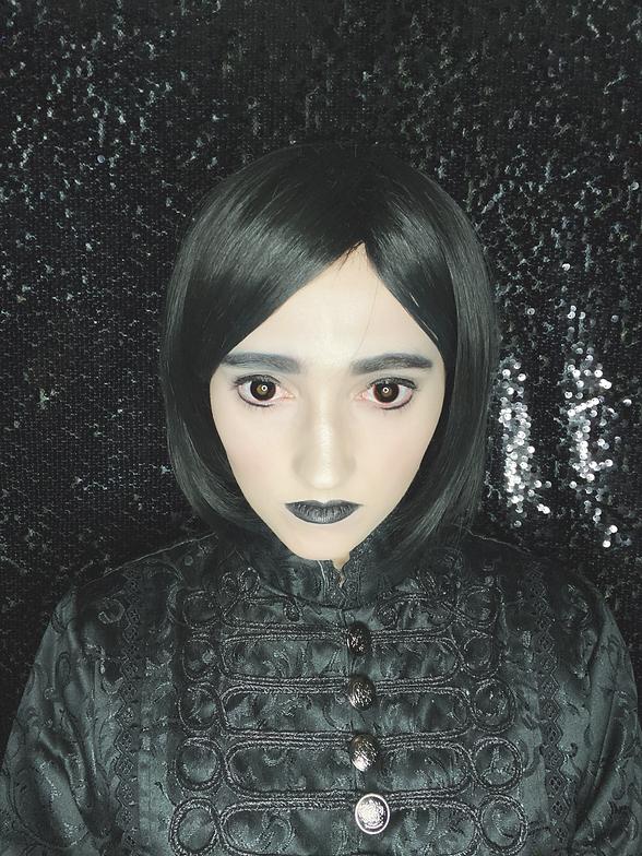 Abby as Wednesday Addams