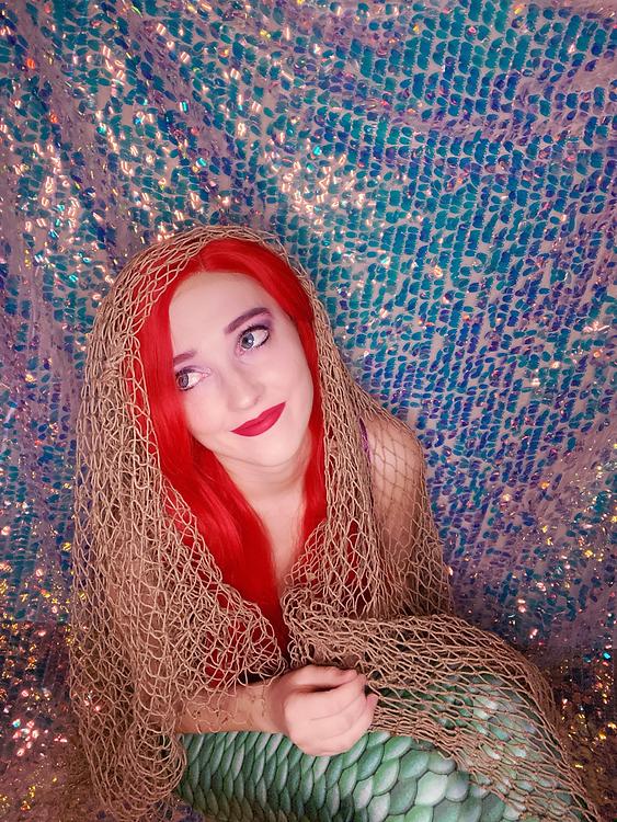 Abby as Ariel