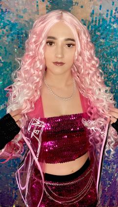 Abby as Carrie Wilson