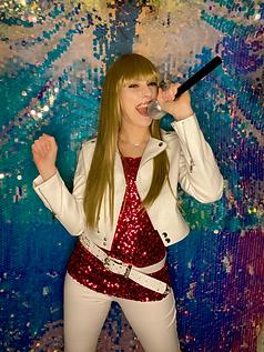 Abby as Hannah Montana