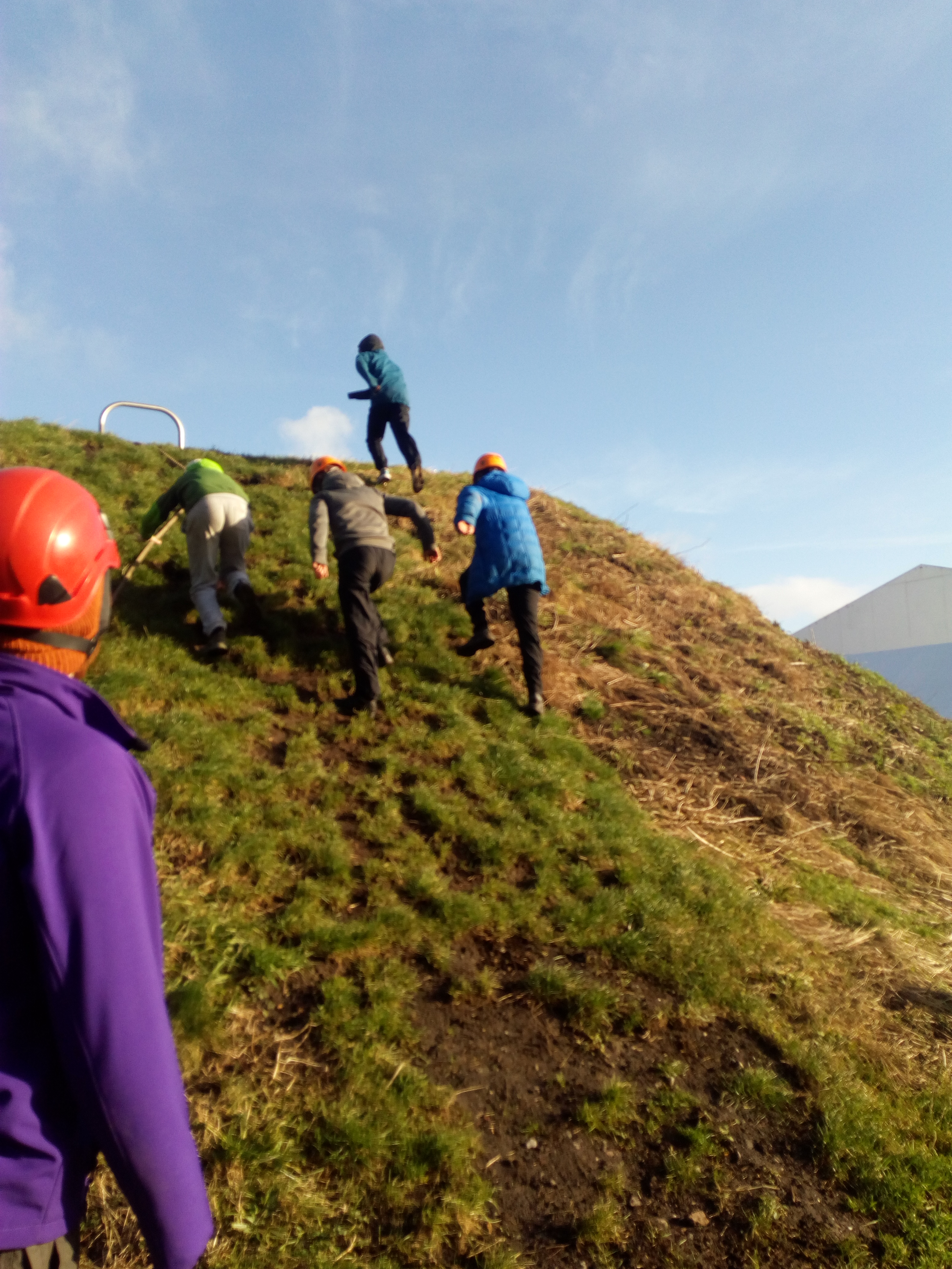 Beating the hill at the challenging obst