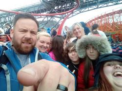 End of year trip to Blackpool Pleasure B