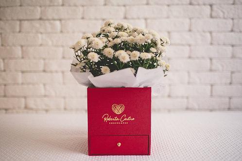 Caixa Flor e Bem casado