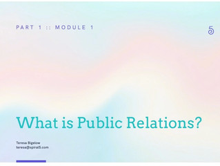 Learn PR With Spiral5's Career Rebel's Guide to Modern PR