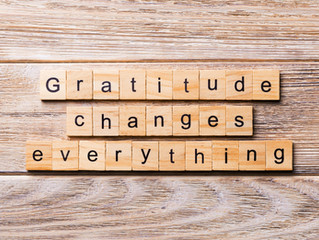 Gratitude & growth.