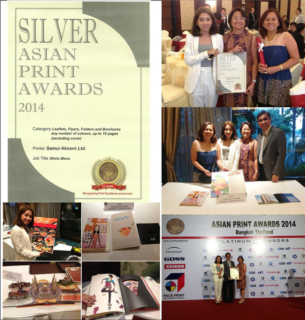 SILVER ASIAN PRINT AWARDS 2014