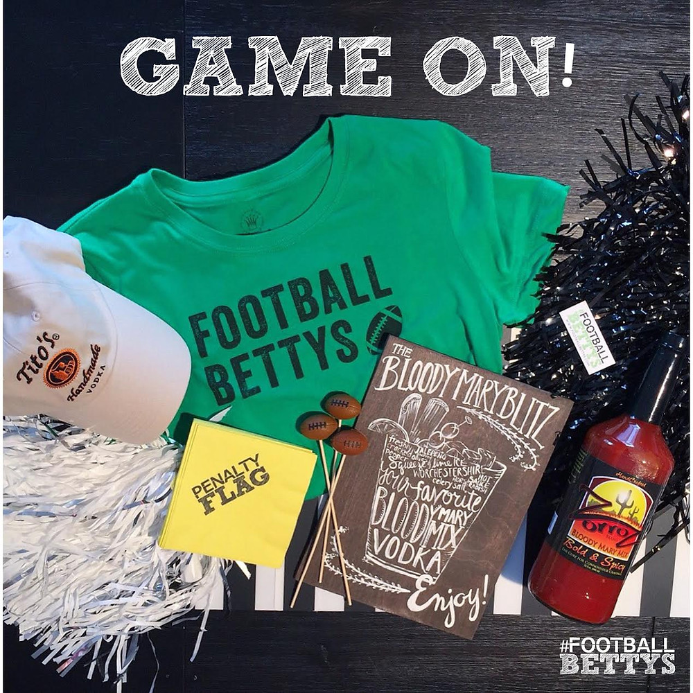 Football Bettys_women who love football_football party giveaway_Game On_football party ideas_entertaining