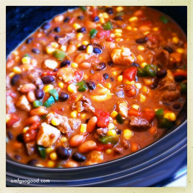 Football Bettys_Slow cooker chili recipe_OMFG so good
