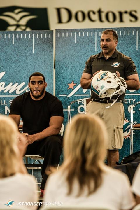 Football Bettys_free printable_football safety clinic_Miami Dolphins