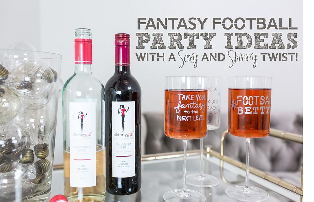 Football BettysStyled Shoot__Skinny Girl_Fantasy Football Party Ideas