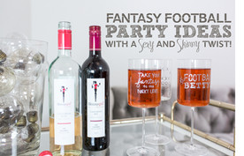 Styled Shoot: Skinny Girl Fantasy Football Party