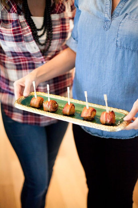 MMMM....Bacon!                               Bacon Wrapped Meatballs