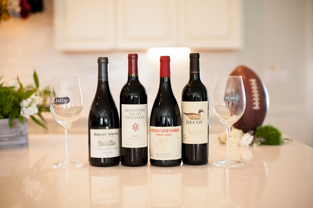 Football bettys_super bowl party ideas_wine for Super Bowl_fully alive photography