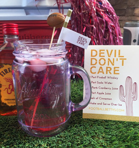 College Football Party: Duel in the Desert Cocktail Recipes