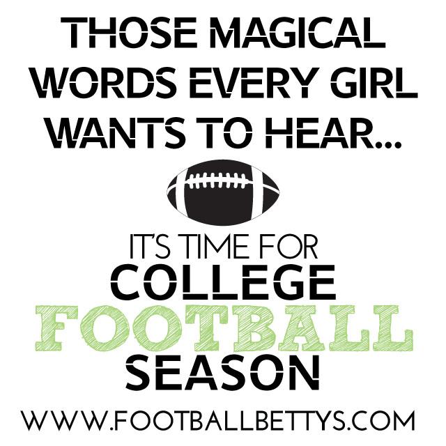 College Football_2015_women who love football_Football Bettys_football