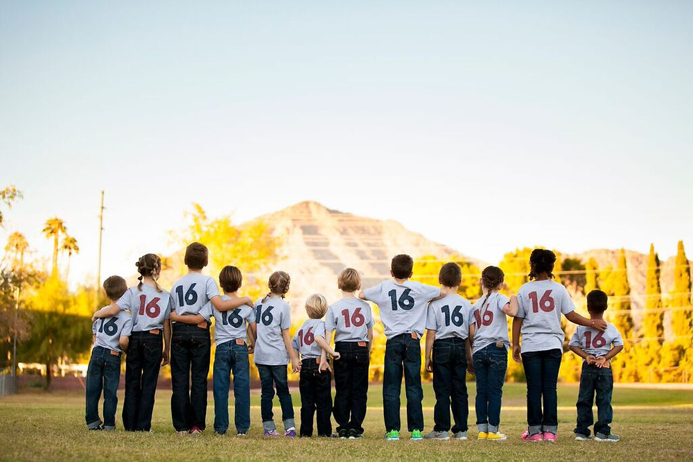 Football Bettys_Kids Flag Football Game_Super Bowl 50