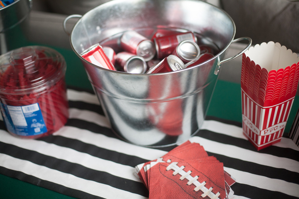 Football Bettys_football party ideas_kids end zone_kids football party_football themed party_diy party_keith and Melissa photography