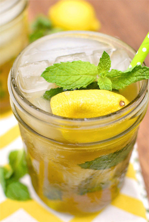Super Bowl Cocktail Recipes_carolina sweet tea