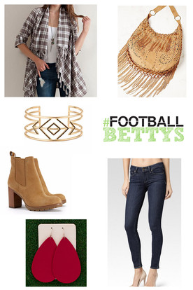 Football Betty Style: Fall Inspiration Board