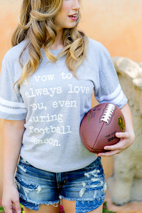Football T-shirts from Live Love Gameday (plus a discount!)